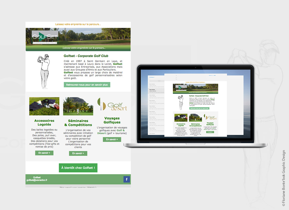golfset-emailing